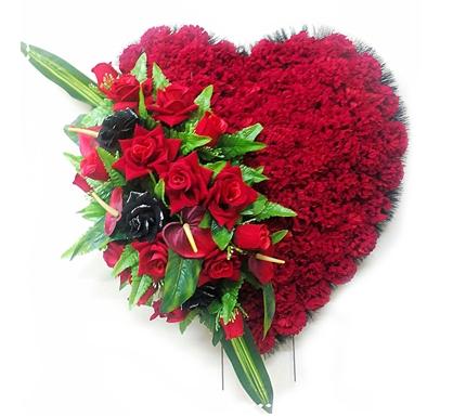 Траурное сердце «Кальяри»