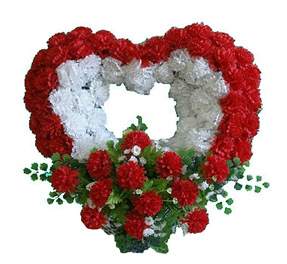 Траурное сердце «Равенна»