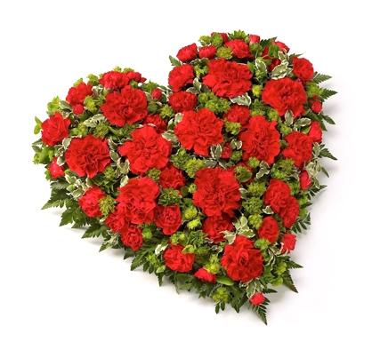 Траурное сердце «Арадео»