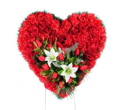 Траурное сердце «Альгеро»