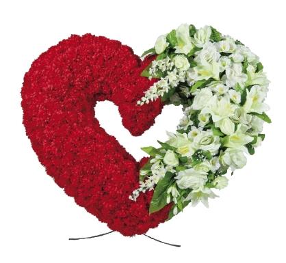 Траурное сердце «Урбино»