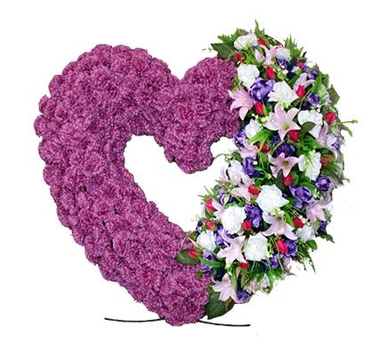 Траурное сердце «Априка»