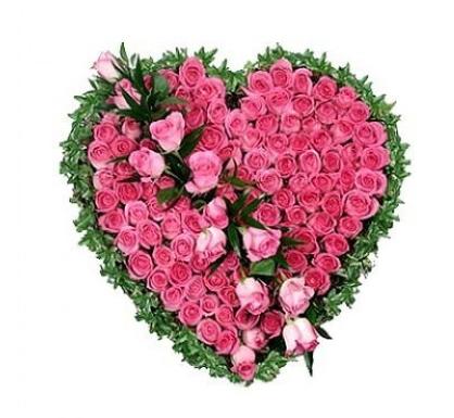 Траурное сердце «Летисия»